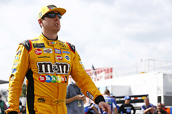 June 1, 2018 - Long Pond, Pennsylvania, United States of America - Kyle Busch (18) hangs out on pit road before qualifying for the Pocono 400 at Pocono Raceway in Long Pond, Pennsylvania. (Credit Image: © Chris Owens Asp Inc/ASP via ZUMA Wire)