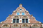 Restaurant building in Burgstraat, Brussels, Belgium