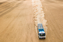 Andrey Karginov (RUS) of Team KAMAZ-Master races during stage 04 of Rally Dakar 2019 from Arequipa to o Tacna, Peru on January 10, 2019 // Marcelo Maragni/Red Bull Content Pool // AP-1Y39E8NMW1W11 // Usage for editorial use only // Please go to www.redbullcontentpool.com for further information. //