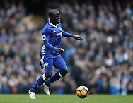 Ngolo Kante of Chelsea during the Premier League match at the Etihad Stadium, Manchester. Picture date: December 3rd, 2016. Pic Simon Bellis/Sportimage