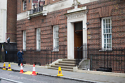 The Lindo Wing at St Mary's Hospital in Paddington, London, where the Duchess of Cambridge is expected within the next few weeks for the birth of her third child.. London, April 10 2018.
