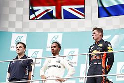 October 1, 2017 - Sepang, Malaysia - Motorsports: FIA Formula One World Championship 2017, Grand Prix of Malaysia, ..#44 Lewis Hamilton (GBR, Mercedes AMG Petronas F1 Team), #33 Max Verstappen (NLD, Red Bull Racing) (Credit Image: © Hoch Zwei via ZUMA Wire)