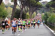 Foto Massimo Paolone/LaPresse <br /> 17 ottobre 2021 Roma, Italia <br /> sport <br /> Roma Ostia Half Marathon 2021<br /> Nella foto: durante la gara  <br /> <br /> Photo Massimo Paolone/LaPresse <br /> October 17, 2021 Rome, Italy <br /> sport <br /> Roma Ostia Half Marathon 2021 <br /> In the pic: during the race