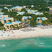 Aerial view of the Royal Hideaway Playacar on Playa del Carmen. Mexico