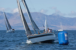 The opening race training weekend or Icebreaker, for the Scottish Keelboat Sailors off Ardrossan. Supported by the Scottish Sailing Institute, RYA Scotland, Fairlie Yacht Club and Clyde Marina. <br /> <br /> 18/04/15<br /> <br /> Credit : Marc Turner / PFM