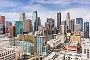 Financial District of Downtown Los Angeles California