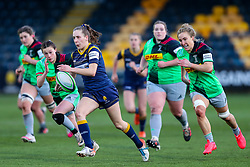 Vicky Foxwell of Worcester Warriors Women breaks for the line - Mandatory by-line: Nick Browning/JMP - 20/12/2020 - RUGBY - Sixways Stadium - Worcester, England - Worcester Warriors Women v Harlequins Women - Allianz Premier 15s