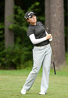 Saehee Son during LPGA Futures Tour Saturday, July 23rd.  (Karen Bobotas/for the Concord Monitor)