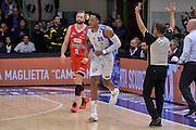 DESCRIZIONE : Beko Legabasket Serie A 2015- 2016 Playoff Quarti di Finale Gara3 Dinamo Banco di Sardegna Sassari - Grissin Bon Reggio Emilia<br /> GIOCATORE : Kenneth Kadji<br /> CATEGORIA : Ritratto Esultanza<br /> SQUADRA : Dinamo Banco di Sardegna Sassari<br /> EVENTO : Beko Legabasket Serie A 2015-2016 Playoff<br /> GARA : Quarti di Finale Gara3 Dinamo Banco di Sardegna Sassari - Grissin Bon Reggio Emilia<br /> DATA : 11/05/2016<br /> SPORT : Pallacanestro <br /> AUTORE : Agenzia Ciamillo-Castoria/L.Canu