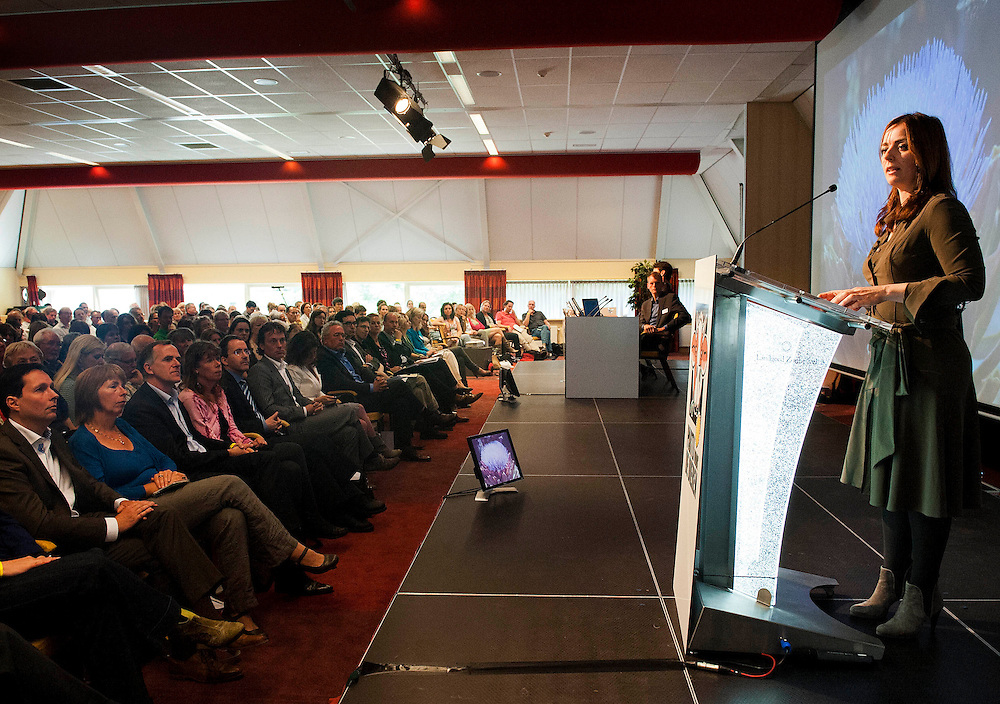 Nederland, Doorn, 1 juli 2012.Partij voor de Dieren verkiezingscongres.Speech Marianne Thieme.. Foto (c): Michiel Wijnbergh