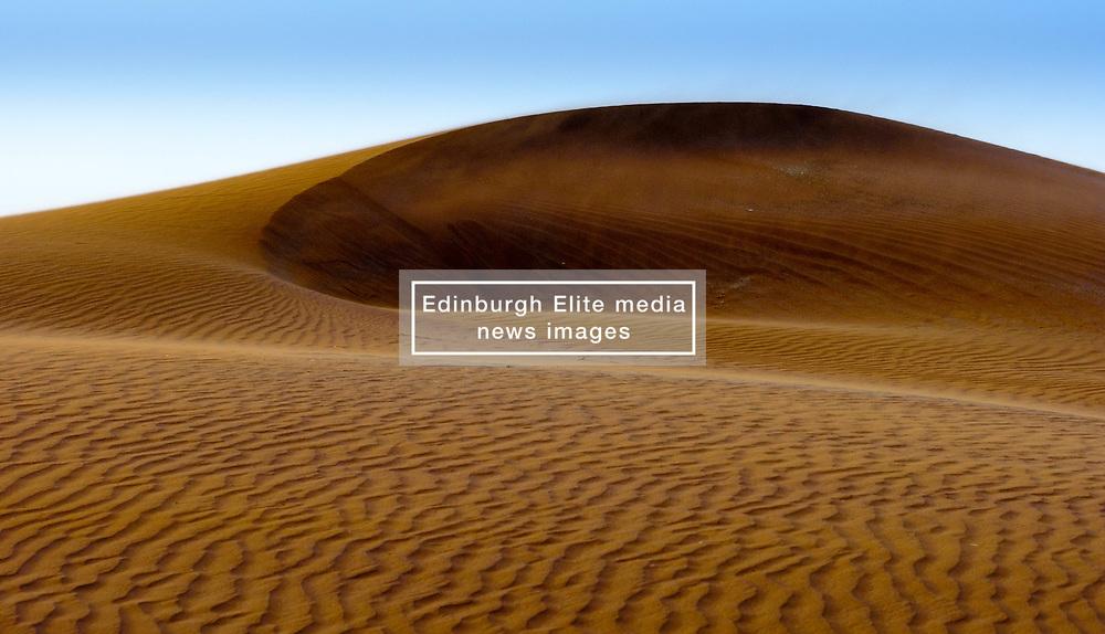 Rippling sand in the Moroccan Sahara Desert near Chegagga<br /> <br /> (c) Andrew Wilson | Edinburgh Elite media