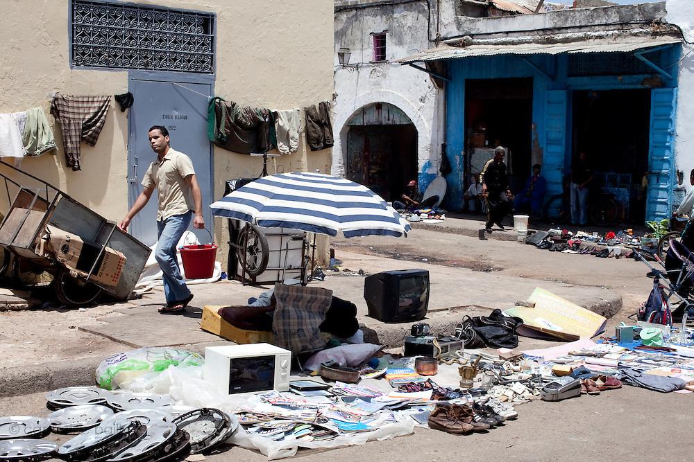 Rabat, Morocco. July 4th 2010.In the Medina.