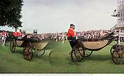 Queen arriving In the Paddock, Ascot Thursday  June 1998  © Copyright Photograph by Dafydd Jones  66 Stockwell Park Rd. London SW9 0DA  Tel 0171 733 0108
