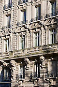 French architecture, Boulevard Saint Germain, Paris, France