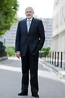 caucasian senior businessman confident full length