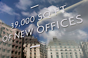 39,000 sq feet of new office space being advertisised and soon available in the Square Mile, on 31st March 2017, in the City of London, England.