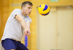 Jani Kovacic during training camp of Slovenian Volleyball Men Team 1 month before FIVB Volleyball World League tournament in Ljubljana, on May 5, 2016 in Arena Vitranc, Kranjska Gora, Slovenia. Photo by Vid Ponikvar / Sportida