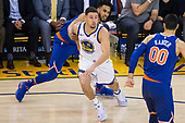 Golden State Warriors vs New York Knicks (01/23/2018)