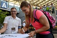 PERKOVIC Sandra CROATIA Winner Discus Throw Women <br /> Roma 31-05-2018 Stadio Olimpico  <br /> Iaaf Diamond League Golden Gala <br /> Athletic Meeting <br /> Foto Andrea Staccioli/Insidefoto