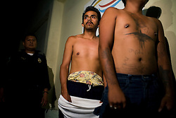 Two young men are arrested and for burglary in Mexico City, Mexico. As the borders to the north tighten, more drugs and weapons are staying in Mexico. The rate of addiction is increasing and violent crime is also increasing throughout the country.