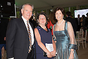 JEFFREY ARCHER; MARY KOVALCIK; MARY ARCHER, Art Antiques London Party in the Park, in aid of Great Ormond Street Hospital Childrens Charity. Kensington Gdns opposite the Albert Hall. London. 11 June 2013.