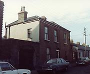 old dublin street photos december 1983 smithwicks pub Old amateur photos of Dublin streets churches, cars, lanes, roads, shops schools, hospitals
