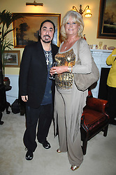 DAVID GEST and MARILYN GALSWORTHY at a party to celebrate the 21st birthday of one of their horses Leopold, held at 35 Sloane Gardens, London W1 on 10th September 2007.<br /><br />NON EXCLUSIVE - WORLD RIGHTS