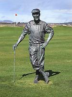 Waterville Golf Links; Beeld van de in 1999 verongelukte Payne Stewart.