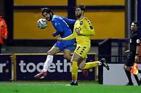 Harry Cardwell. Stockport County FC 3-0 Eastleigh FC. Vanarama National League. Edgeley Park. 23.3.21