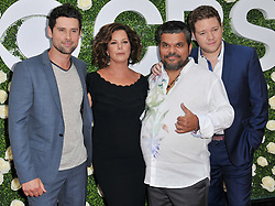 """Code Black"" Cast - Ben Hollingsworth, Marcia Gay Harden, Luis Guzman and Harry Ford together at the 2017 CBS Television Studios Summer Soiree TCA Party held at the CBS Studio Center – New York Street in Studio City, CA on Tuesday, August 1, 2017. (Photo By Sthanlee B. Mirador) *** Please Use Credit from Credit Field ***"
