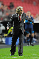FOOTBALL - CHAMPIONS LEAGUE 2010/2011 - GROUP STAGE - GROUP B - SL BENFICA v OLYMPIQUE LYONNAIS - 02/11/2010 - PHOTO JEAN MARIE HERVIO / DPPI - JORGE JESUS (BENFICA COACH)