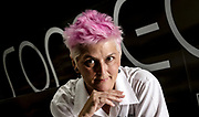 Cristina Bowerman al ristorante Romeo Chef & Baker.<br /> Roma 22-06-2018<br /> Foto Antonietta Baldassarre / Insidefoto