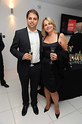 JAMIE REUBEN and his mother DEBRA REUBEN at The Reuben Foundation and Virgin Unite Haiti Fundraising dinner held at Altitude 360 in Millbank Tower, London on 26th May 2010.