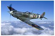 Spitfire MKV, aerial photography