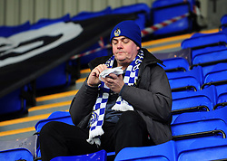Bristol Rovers fan - Photo mandatory by-line: Neil Brookman/JMP - Mobile: 07966 386802 - 08/11/2014 - SPORT - Football - Birkenhead - Prenton Park - Tranmere Rovers v Bristol Rovers - FA Cup - Round One