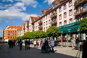Wrocław, 2007-05-01. Ulica Świdnicka