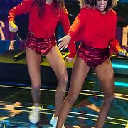 NLD/Hilversum/20180216 - Finale The voice of Holland 2018, danseres