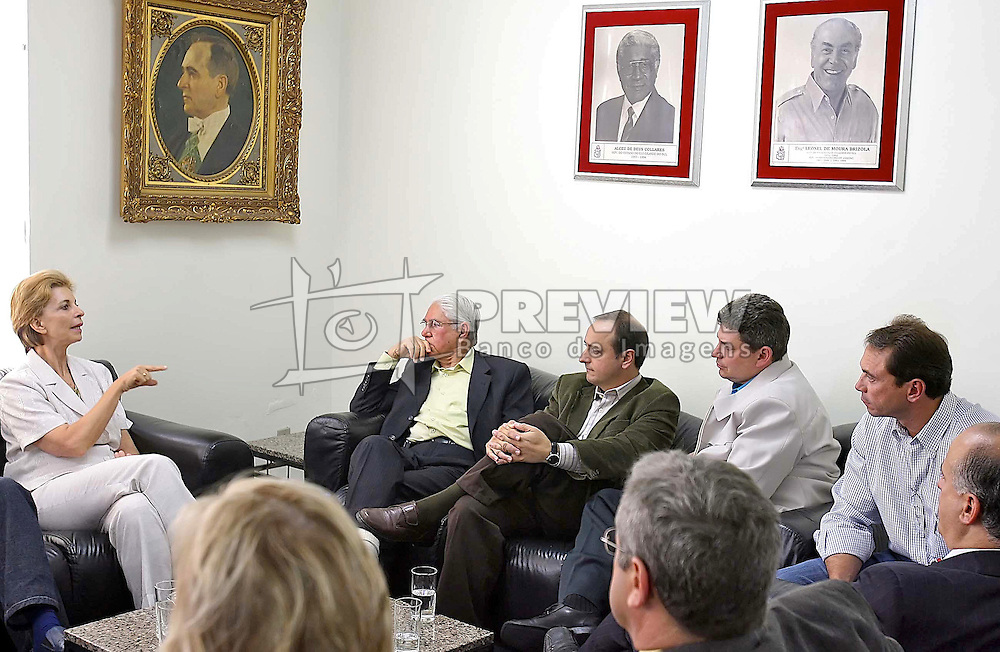 A governadora eleita do Rio Grande do Sul, Yeda Crusius durante encontro com as lideranças do PDT, em Porto Alegre-RS. FOTO: Jefferson Bernardes/Preview.com