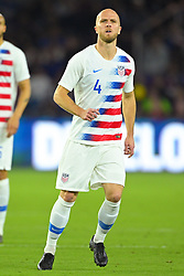 March 21, 2019 - Orlando, Florida, USA - US midfielder Michael Bradley (4) during an international friendly between the US and Ecuador at Orlando City Stadium on March 21, 2019 in Orlando, Florida. .The US won the game 1-0...©2019 Scott A. Miller. (Credit Image: © Scott A. Miller/ZUMA Wire)