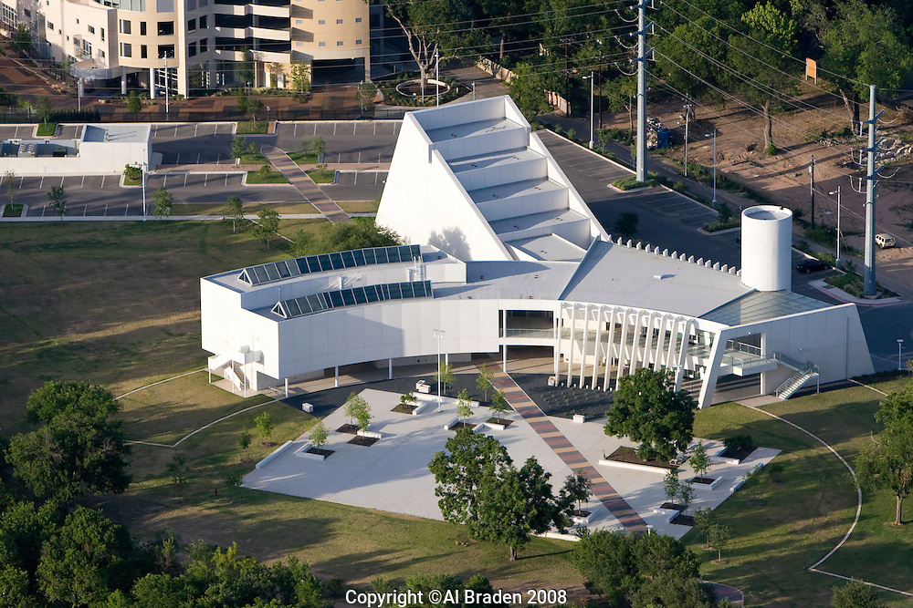 Mexican American Cultural Center, Austin, Texas opened Sept. 15, 2007 and features art and cultural displays
