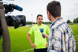 Branko Ilic during training of NK Olimpija Ljubljana , on June 13, 2018 in Sports park Siska, Ljubljana, Ljubljana, Slovenia. Photo by Ziga Zupan / Sportida