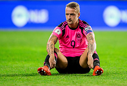 Leigh Griffiths of Scotland after the football match between National Teams of Slovenia and Scotland of Fifa 2018 World Cup European qualifiers, on October 8, 2017 in SRC Stozice, Ljubljana, Slovenia. Photo by Vid Ponikvar / Sportida