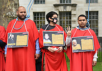 'Stop executions for political reasons in Egypt' Protest london 3/7/21 photo by Krisztian Elek