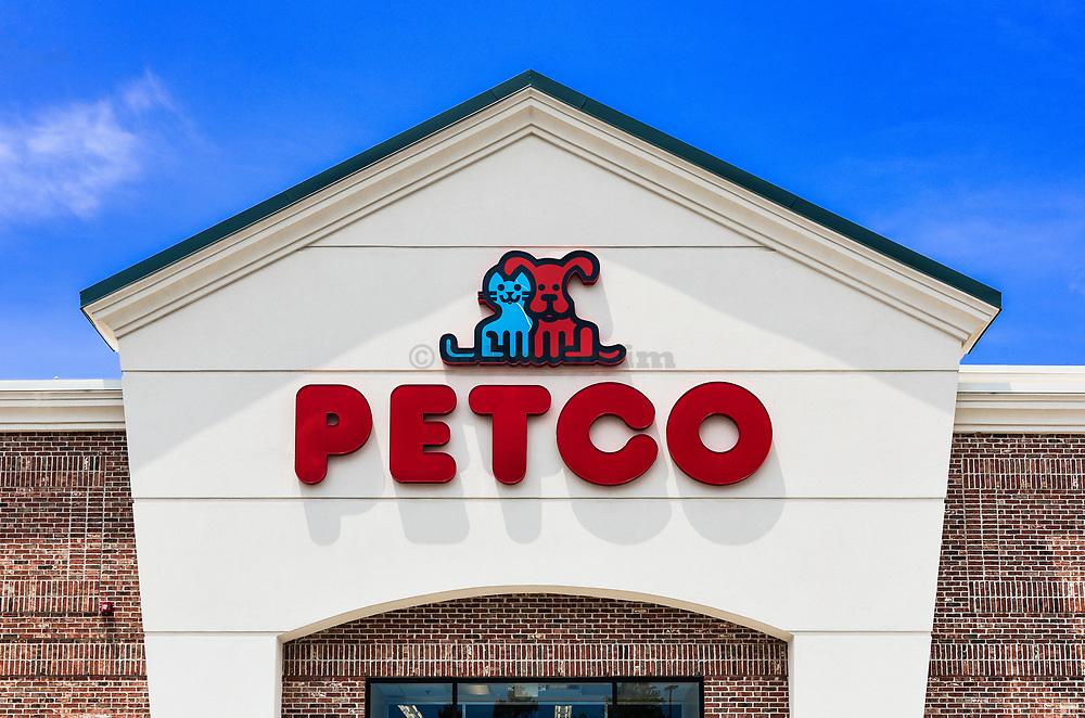 Petco pet supply store.