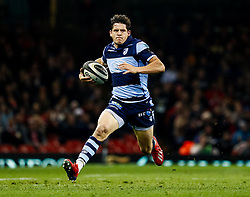 Lloyd Williams of Cardiff Blues<br /> <br /> Photographer Simon King/Replay Images<br /> <br /> Guinness PRO14 Round 21 - Cardiff Blues v Ospreys - Saturday 27th April 2019 - Principality Stadium - Cardiff<br /> <br /> World Copyright © Replay Images . All rights reserved. info@replayimages.co.uk - http://replayimages.co.uk