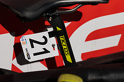 January 18, 2018 - Glenelg, South Australia, Australia - Caleb Ewans bike number 21 at the start of Stage 3, Glenelg to Victor Harbor, of the Tour Down Under, Australia on the 18 of January 2018  (Credit Image: © Gary Francis via ZUMA Wire)