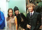 Jade Jagger, Anita Pallenberg and Dan Macmillan. Jade Jagger party. St. Martin's Hotel, London. 20/9/99.  © Copyright Photograph by Dafydd Jones 66 Stockwell Park Rd. London SW9 0DA  Tel 0171 733 0108