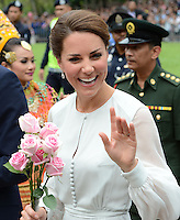 The Duke and Duchess of Cambridge attend a cultural event in Kuala Lumpur, Malaysia, as part of their Diamond Jubilee Tour of South East Asia, on the 14th September 2012<br /> <br /> PICTURE BY JAMES WHATLING