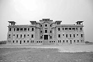Ancient casino in the Bokor National Park, built during the French Colonial era, Cambodia, Southeast Asia