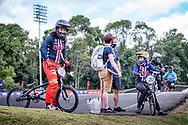 2021 UCI BMXSX World Cup<br /> Round 3 and 4 at Bogota (Colombia)<br /> ^me#187 GARCIA, Jared (USA, ME) <br /> ^we#215 RIDENOUR, Payton (USA, WE) Mongoose, E6 Wheels